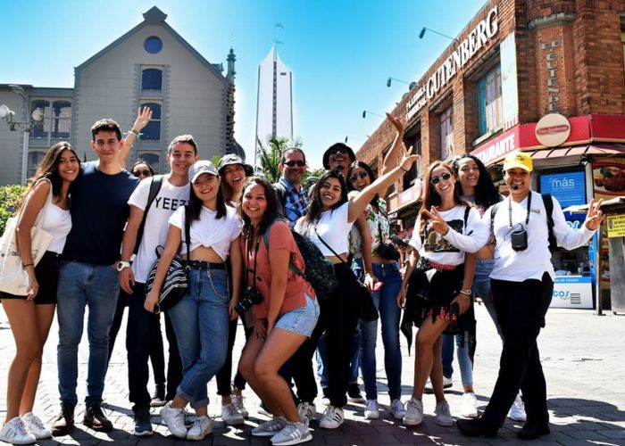 Walking tours Medellin