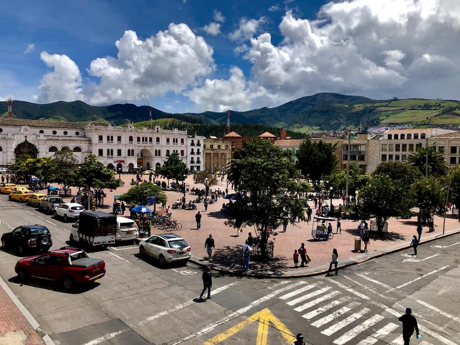 Plaza de Nariño Pasto