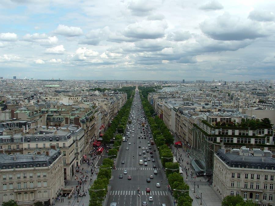 Campos Eliseos en Paris