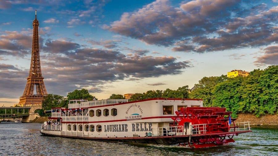 Crucero por el Río Sena en Paris