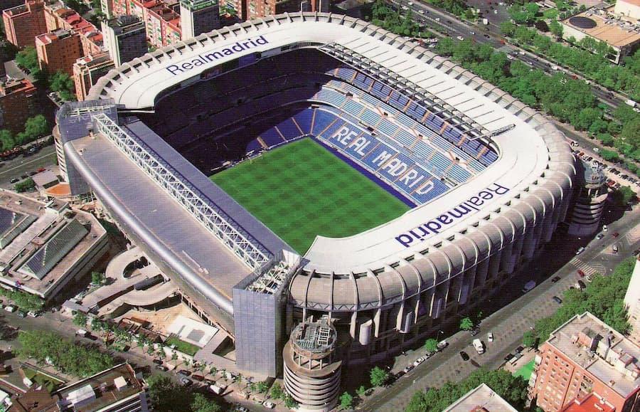 Estadio Santiago Bernabéu Madrid