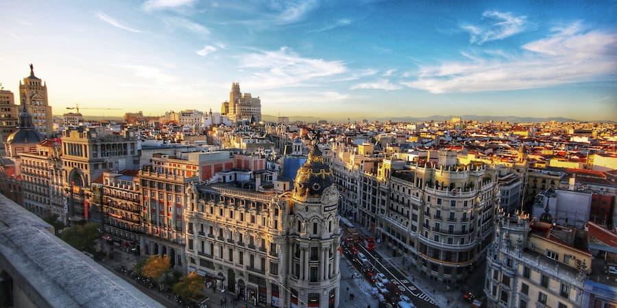 Panorámica Madrid