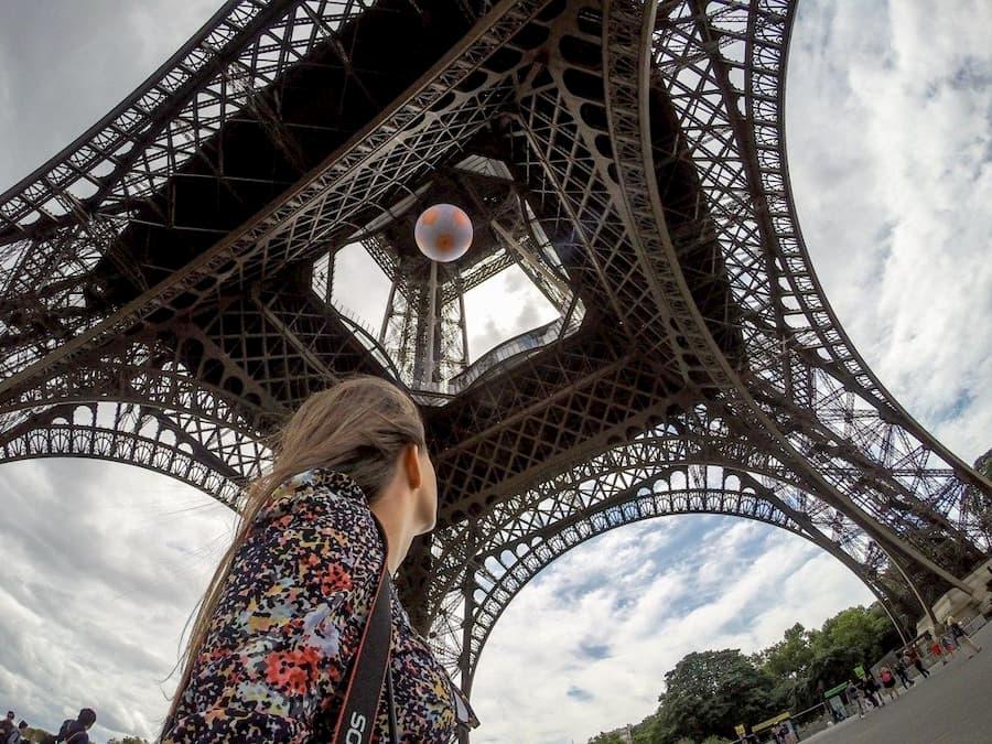 Torre Eiffel Quinceañera