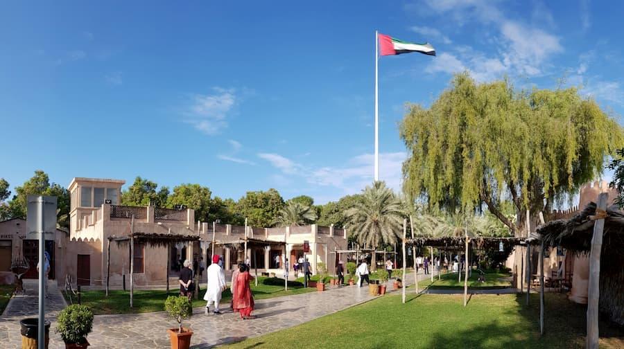 Heritage Village en Abu Dabi