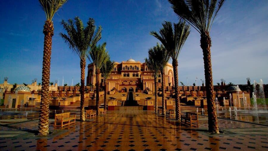 Hotel Emirates Palace en Abu Dabi