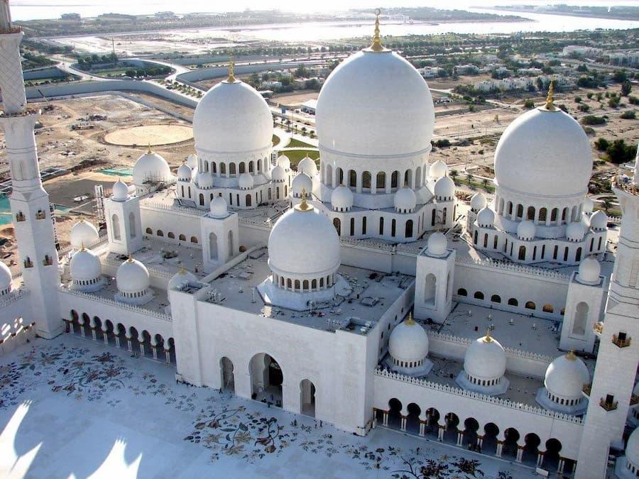 Mezquita Sheikh Zayed en Abu Dabi