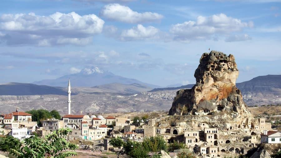 Valles de Avcilar y Güvercinlik en Capadocia