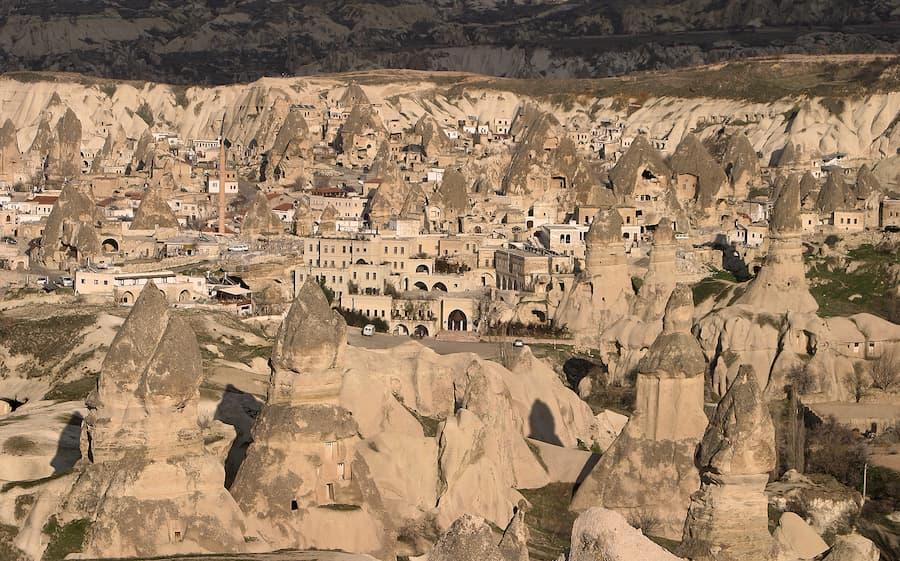 Museo al Aire Libre de Göreme en Capadocia