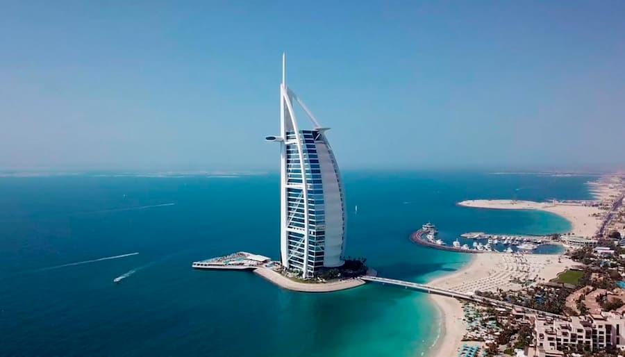 Hotel Burj Al Arab en Dubái