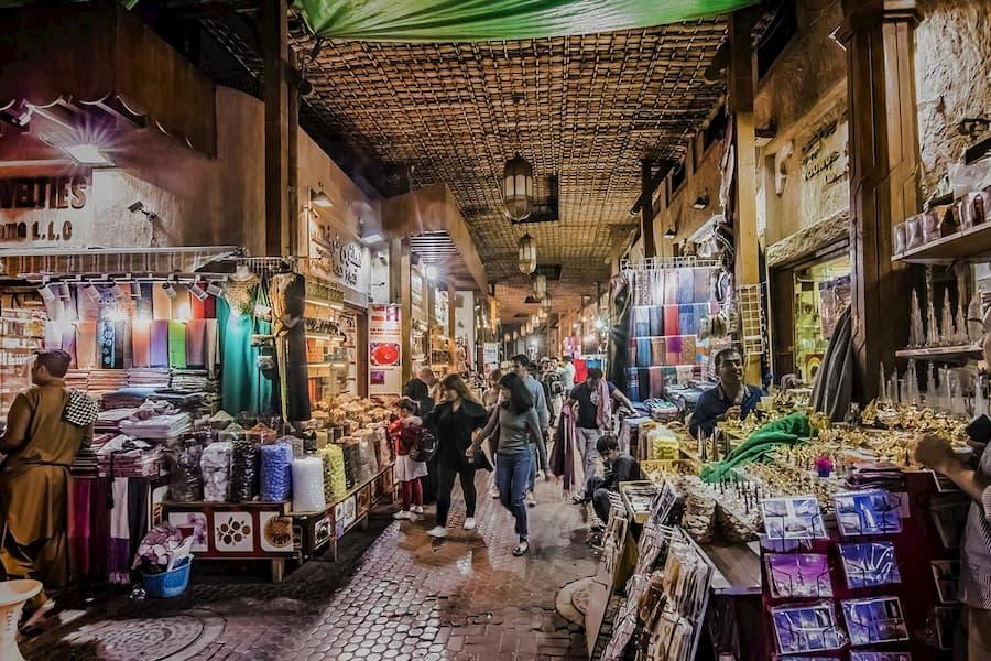 Mercado de Especias y el Oro en Dubái