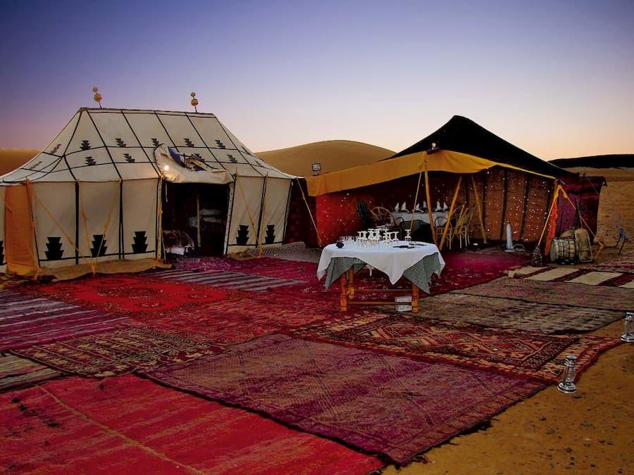 Tiendas Beduinas en el Desierto de Dubái