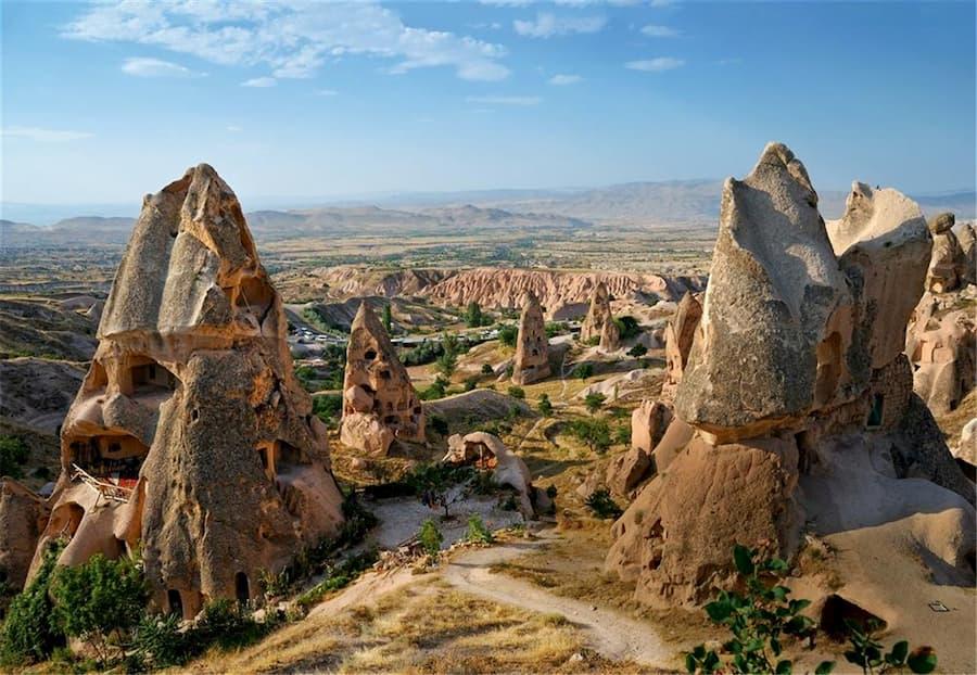 Valle de Uçhisar Capadocia