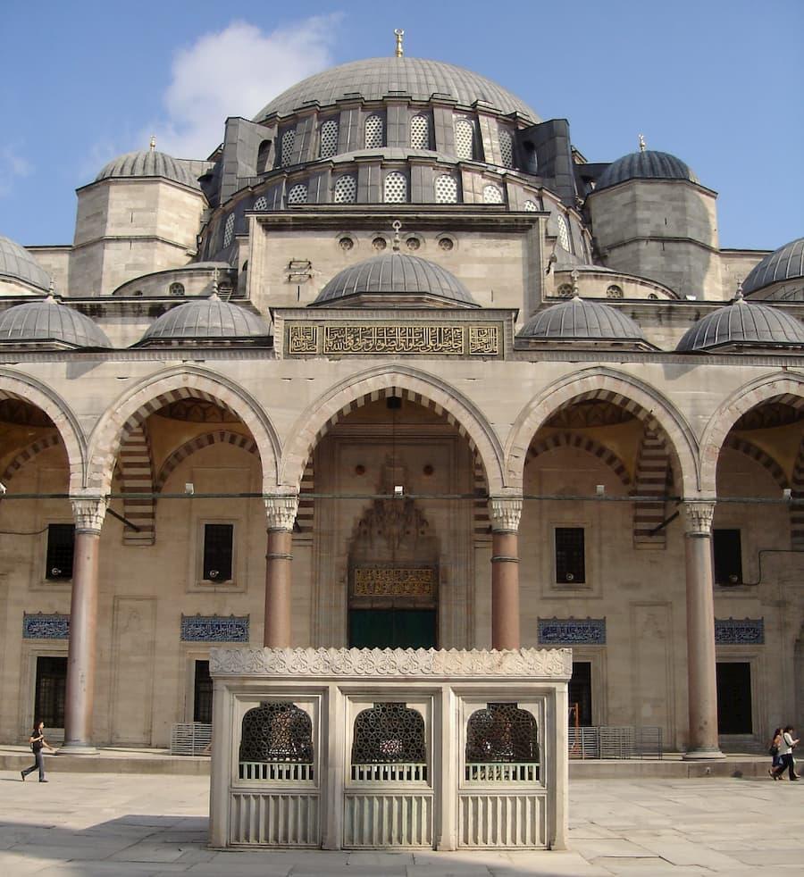 Mezquita de Sultán Solimán Magnifico Estambul