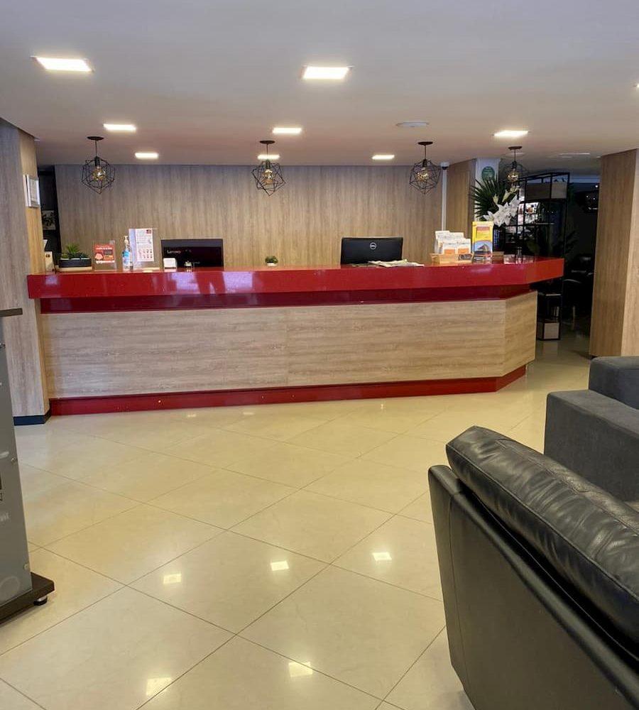 Hotel Portón de San Joaquín Recepción