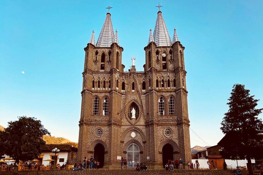 Basílica de la Inmaculada Concepción Jardín Antioquia
