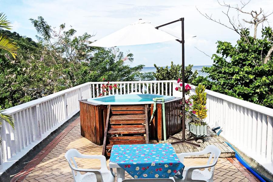 Terraza con vista a la Bahia